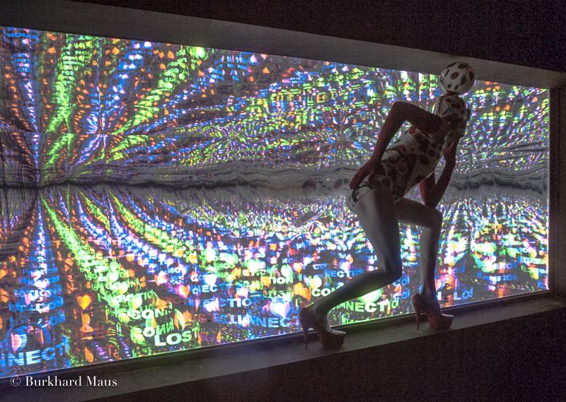 """Andrey Bartenev, """"connection lost / field of lonely hearts"""" (detail), Pavillon de la Russie, Esposizione internazionale d'arte di Venezia, Venise"""