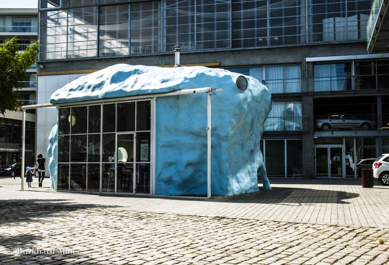 """Atelier van Lieshout, """"D' Architecture l' Absence"""", Nantes"""