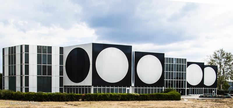 Fondation Vasarely (détail), Aix-en-Provence