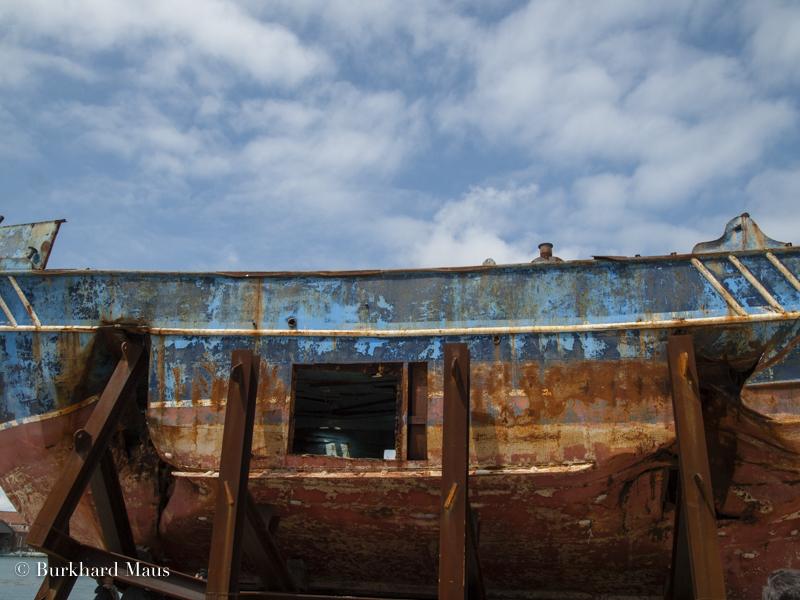 "Christoph Büchel, ""Barca Nostra 2018-2019"" (détail), Esposizione internazionale d'arte di Venezia, Venise"