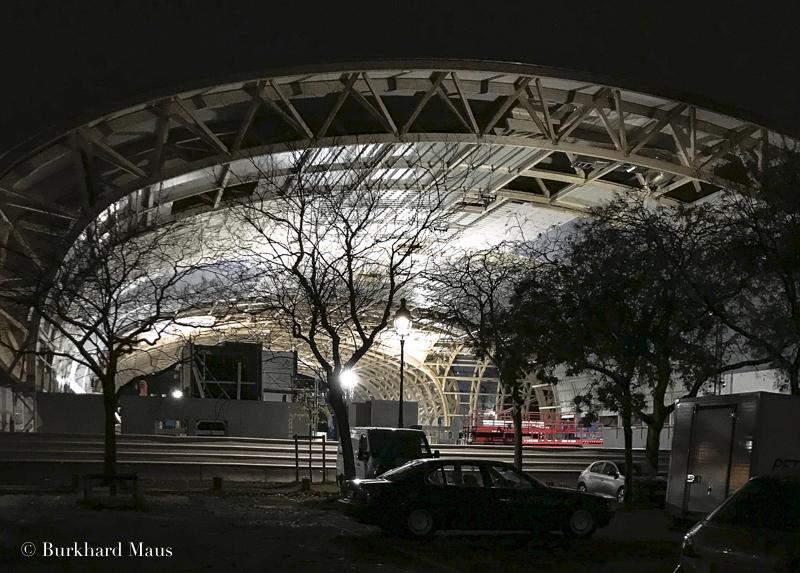 """Grand Palais """"Éphémère"""" (détail), Paris"""