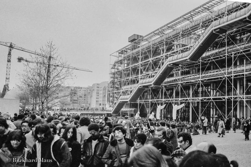 Centre George Pompidou (détail), (1980), Paris