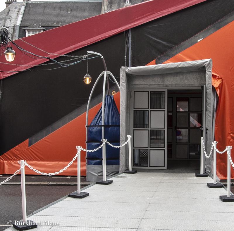 Centre Pompidou mobile (détail), Cambrai