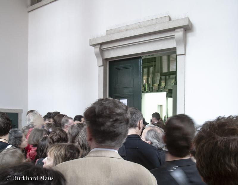 Deutscher Pavillon (Entrée), ale Venedig 2007, Venise