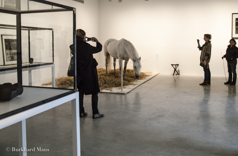 "Joseph Beuys, ""Iphigenie"" (détail), Galerie Thaddaeus Ropac, Pantin"