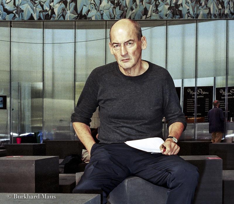 Rem Koolhaas, Serpentine Gallery, London
