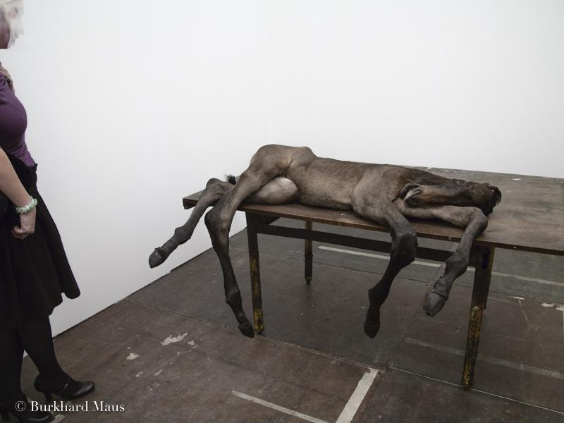 Berlinde De Bruyckere, Galerie Hauser & Wirth, Frieze Art Fair, London