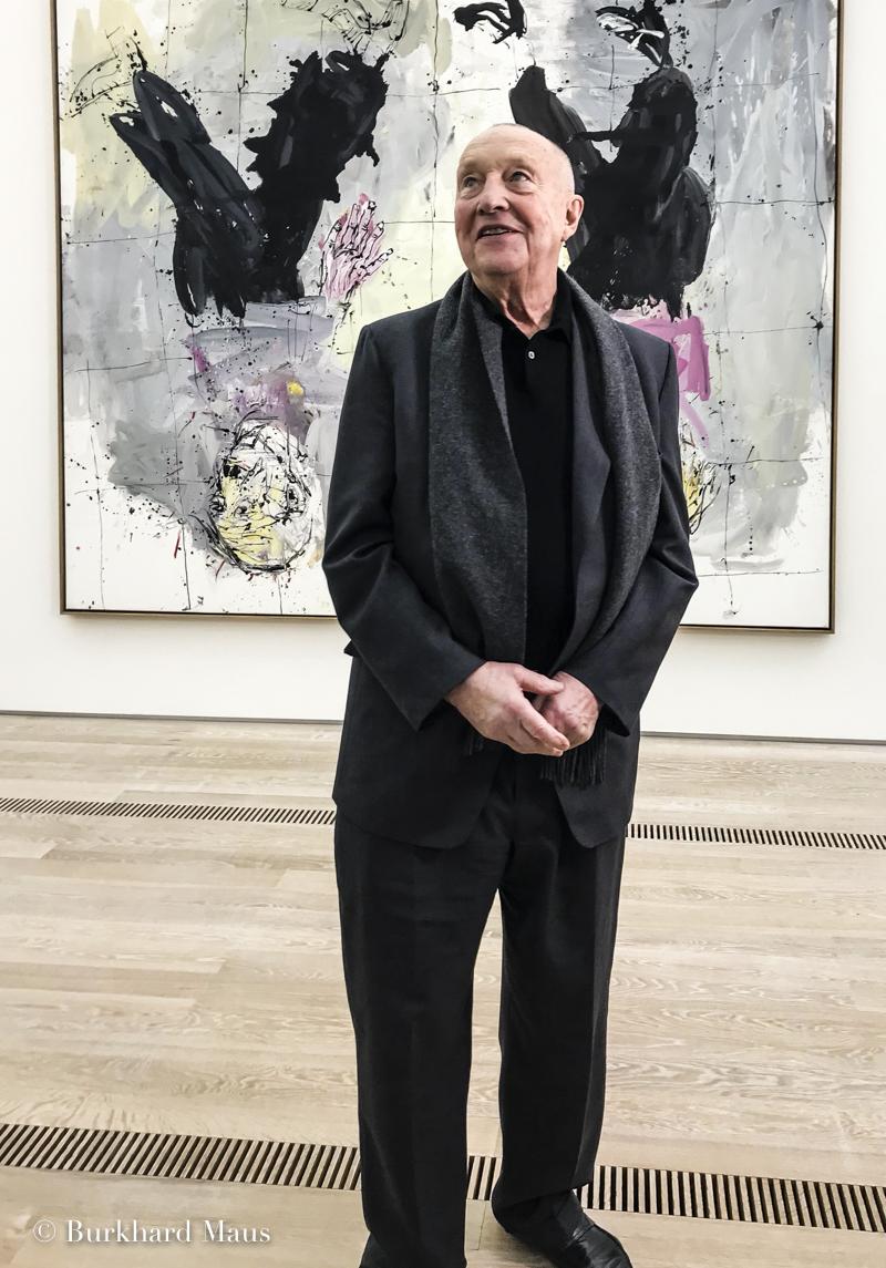 Georg Baselitz, Fondation Beyeler, Bâle, Basel