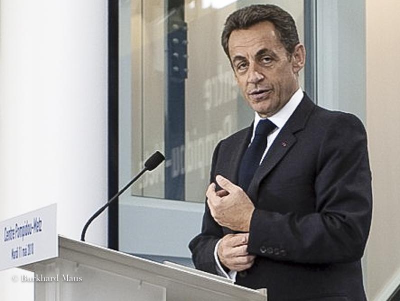 Nicolas Sarkozy, Centre Pompidou Metz