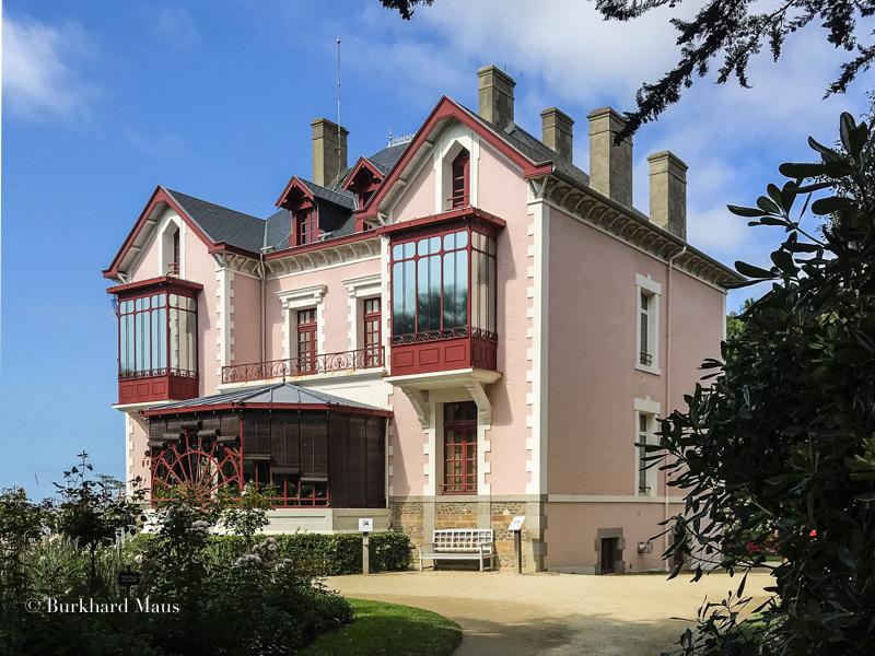 Musée Christian Dior, La villa Les Rhumbs, Granville